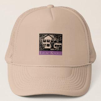 薄紫の小山のトラック運転手 キャップ