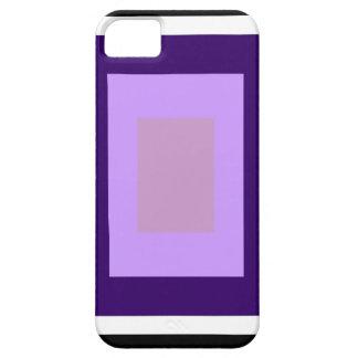 薄紫の正方形 iPhone SE/5/5s ケース