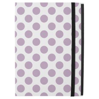 """薄紫の水玉模様 iPad PRO 12.9"""" ケース"""