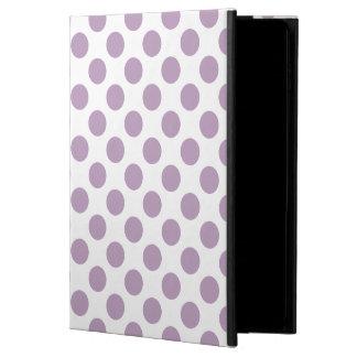 薄紫の水玉模様 POWIS iPad AIR 2 ケース