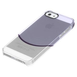 薄紫の点 クリア iPhone SE/5/5sケース