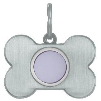 薄紫の点 ペットネームタグ