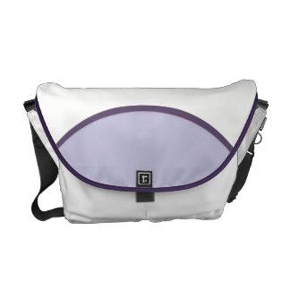 薄紫の点 メッセンジャーバッグ