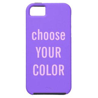 薄紫の無地の背景のiPhoneの場合 iPhone SE/5/5s ケース