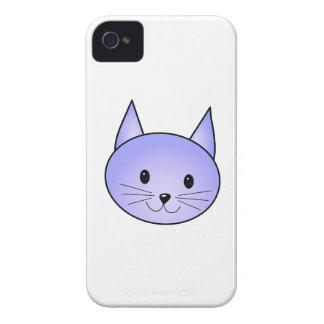薄紫の猫 Case-Mate iPhone 4 ケース