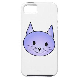 薄紫の猫 iPhone SE/5/5s ケース