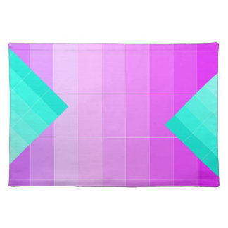 薄紫の紫色のグラデーションなランチョンマット1だけを着色して下さい ランチョンマット