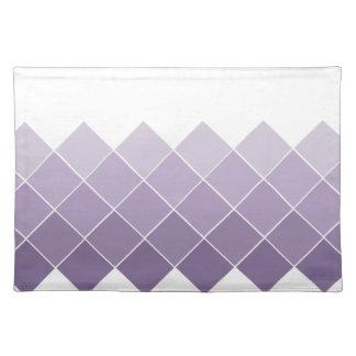 薄紫の紫色のグラデーションな結婚式 ランチョンマット