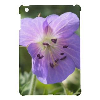 薄紫の紫色のゼラニウムのiPad Miniの箱 iPad Miniカバー