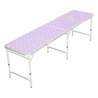薄紫の紫色の認識度の蝶 ビアポンテーブル