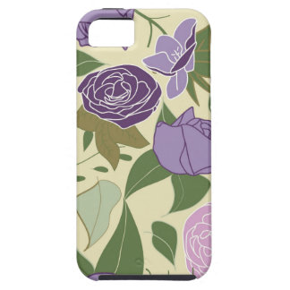 薄紫の絹のバラ iPhone SE/5/5s ケース