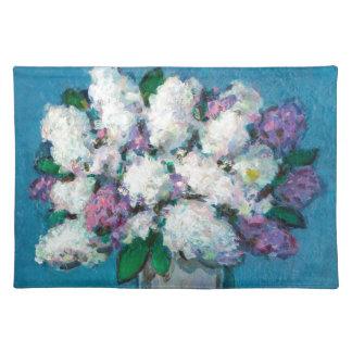 薄紫の花束 ランチョンマット