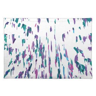 薄紫の花火#2 ランチョンマット