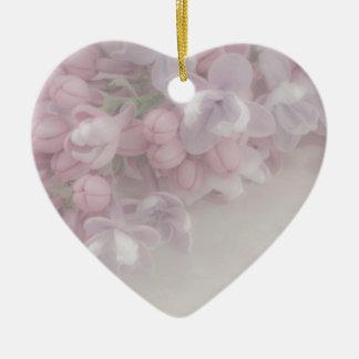薄紫の花 セラミックオーナメント