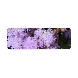 薄紫の軽い花 ラベル