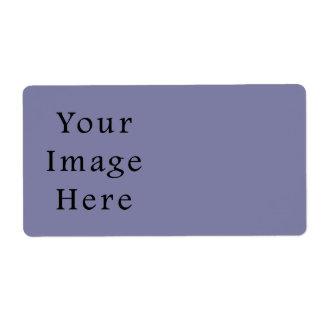 薄紫の霞色の傾向のブランクのテンプレート ラベル