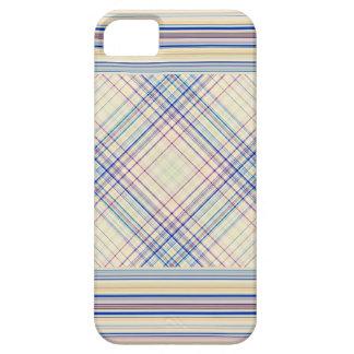 薄紫の青い黄色 iPhone SE/5/5s ケース