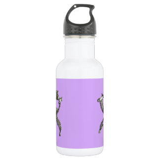 薄紫のsavonarolaの椅子 ウォーターボトル
