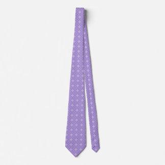 薄紫のshippoパターン オリジナルネクタイ