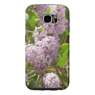 薄紫ブッシュの美しい紫色の春の花 SAMSUNG GALAXY S6 ケース