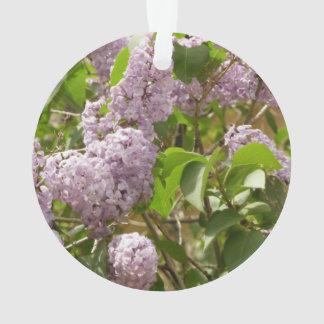 薄紫ブッシュ オーナメント