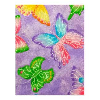 薄紫- WOWCOCO ポストカード