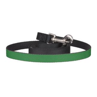 薄緑のハートパターン深緑色の背景 ペットリード