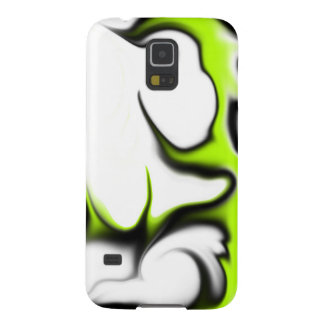 薄緑の白黒 GALAXY S5 ケース