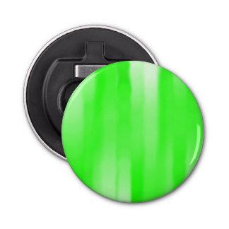 薄緑の縞の円形のオープナ 栓抜き