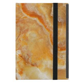 薄茶およびベージュ大理石の石 iPad MINI カバー