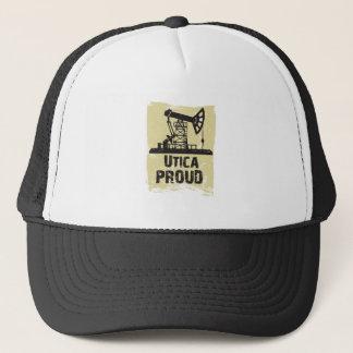 薄茶のユーティカの誇りを持ったな帽子 キャップ