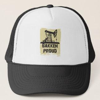 薄茶のBakkenの誇りを持ったな帽子 キャップ
