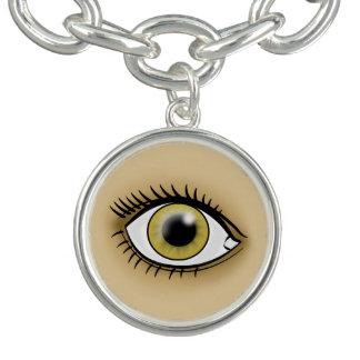 薄茶色の目アイコン ブレス