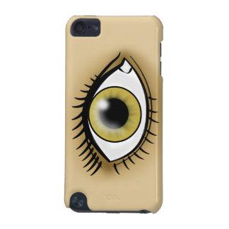 薄茶色の目アイコン iPod TOUCH 5G ケース