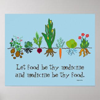 薬として食糧 ポスター