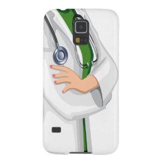 薬の女性医者 GALAXY S5 ケース