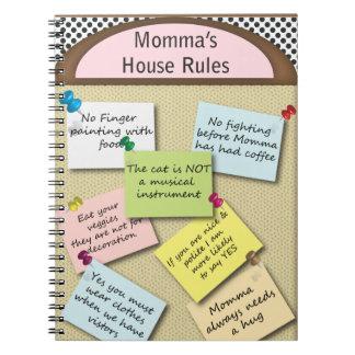薬中療養所の規則 ノートブック