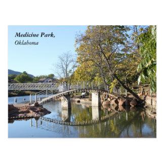 薬公園、オクラホマ ポストカード