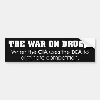 薬剤の戦争 バンパーステッカー