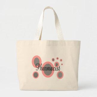 薬剤師のギフトのアイディア--ユニークなデザイン ラージトートバッグ