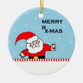 薬剤師のクリスマス セラミックオーナメント