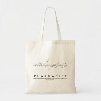 薬剤師のペプチッド名前のバッグ トートバッグ