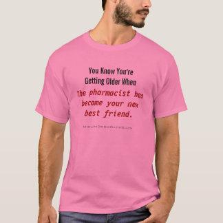 薬剤師の新しい親友のワイシャツ Tシャツ