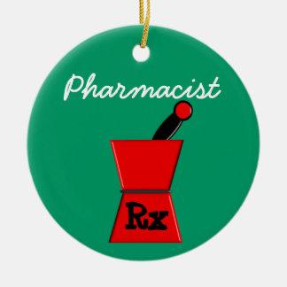 薬剤師の規定のクリスマスのオーナメント セラミックオーナメント