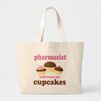 薬剤師の(おもしろいな)ギフト ラージトートバッグ
