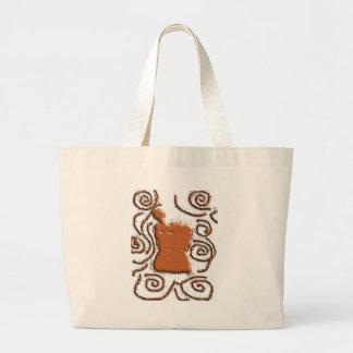 薬剤師乳棒及び乳鉢のデザインのギフト ラージトートバッグ