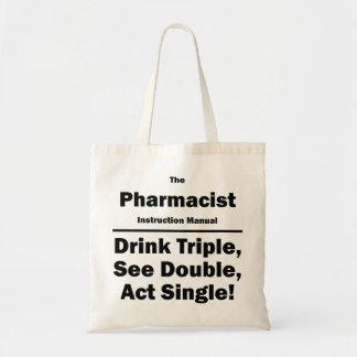 薬剤師 トートバッグ