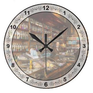 薬剤師-化学者1913年へのvist ラージ壁時計