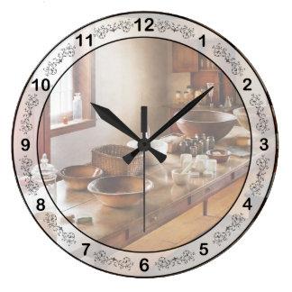 薬剤師-薬学の学校 ラージ壁時計