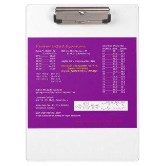 薬学の同等化のクリップボード クリップボード